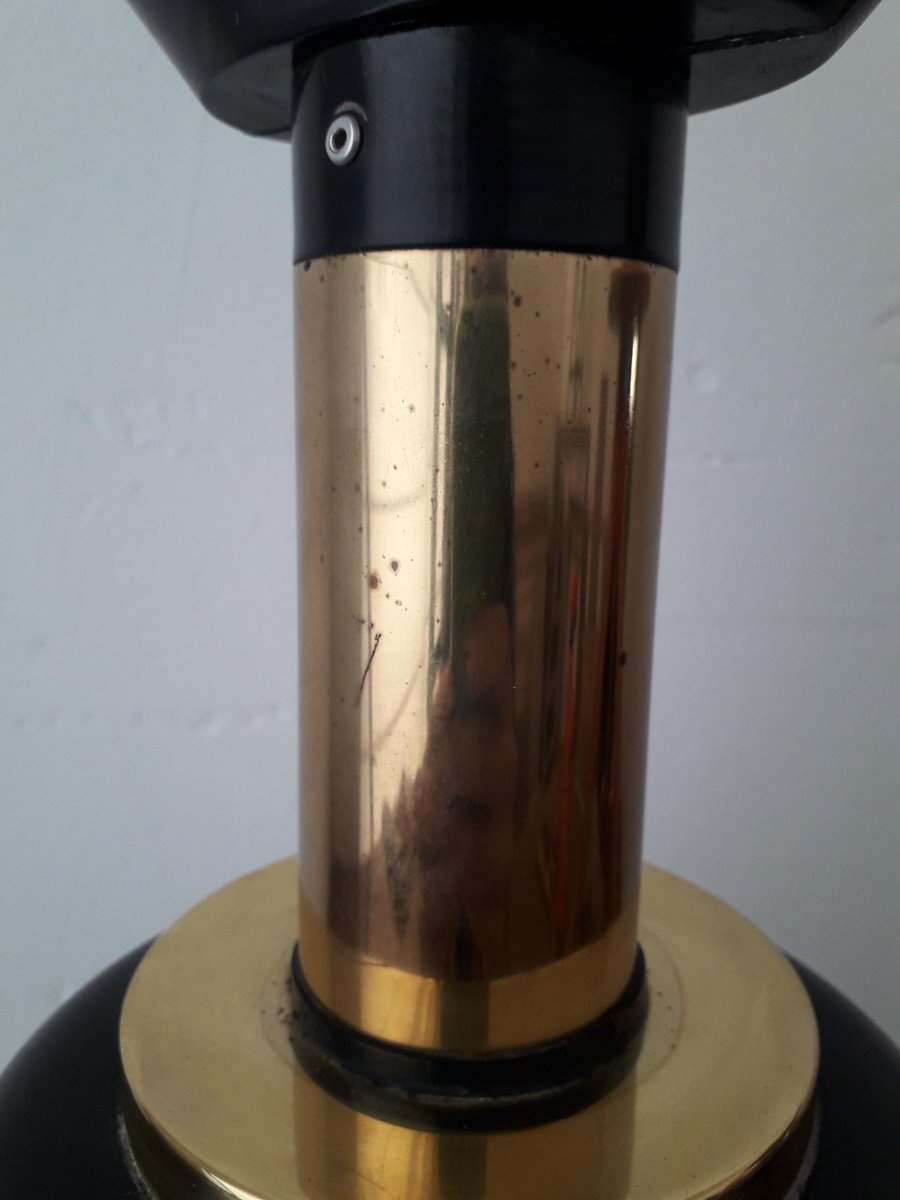 Vintage Table Lamp By Willy Rizzo For Lumica For Sale At
