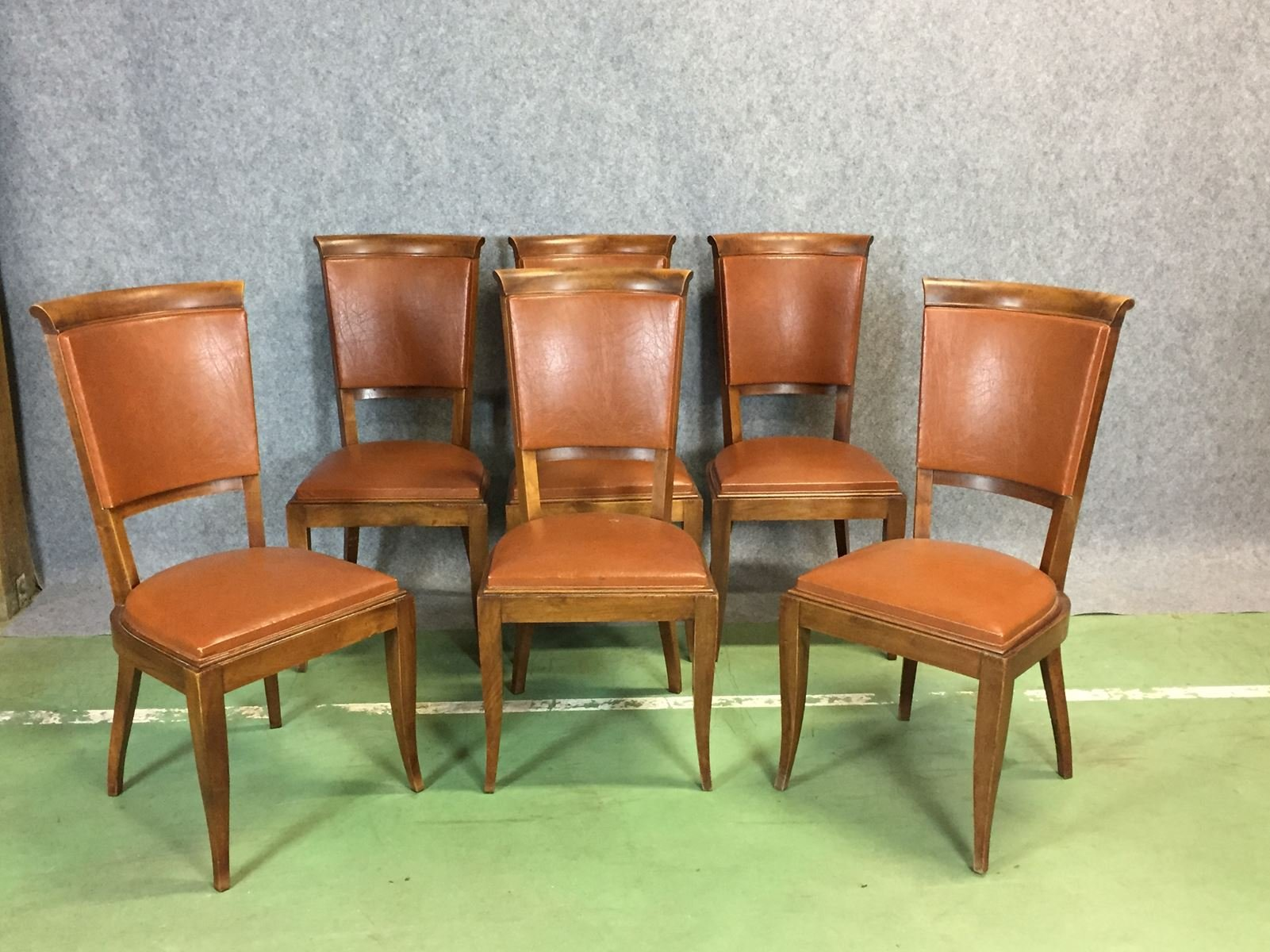 Esszimmerst hle 1960er 6er set bei pamono kaufen - Esszimmerstuhle 6er set ...