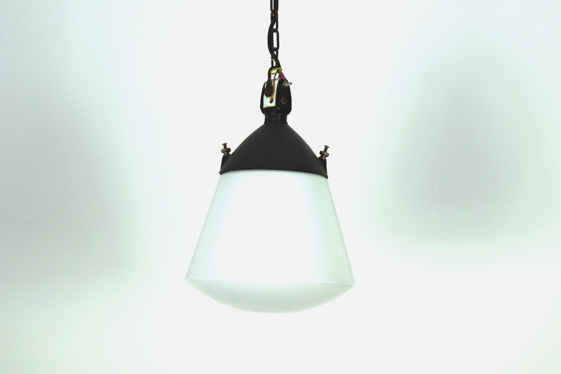 Bauhaus Deckenlampe von H. Bredendieck für Kandem