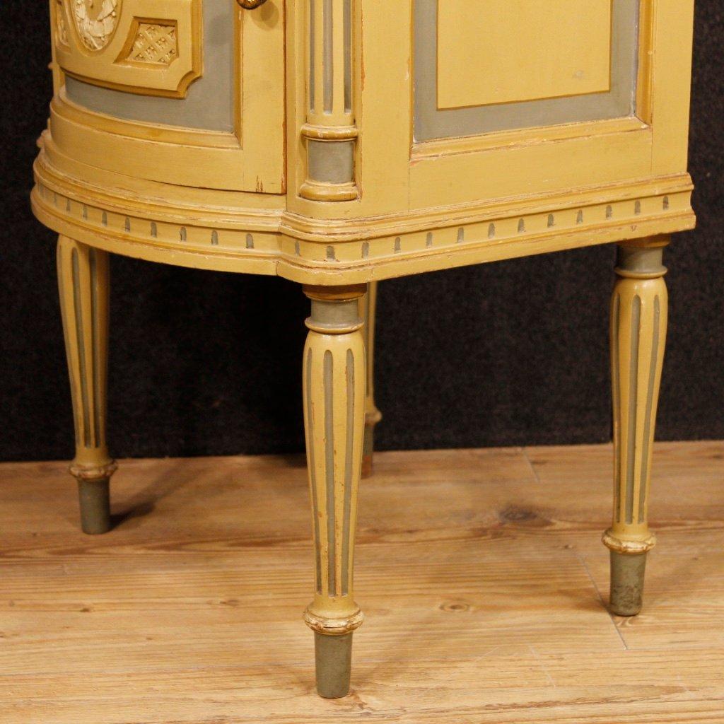 Tables de chevet avec plateaux en marbre italie 1930s en - Table de chevet marbre ...