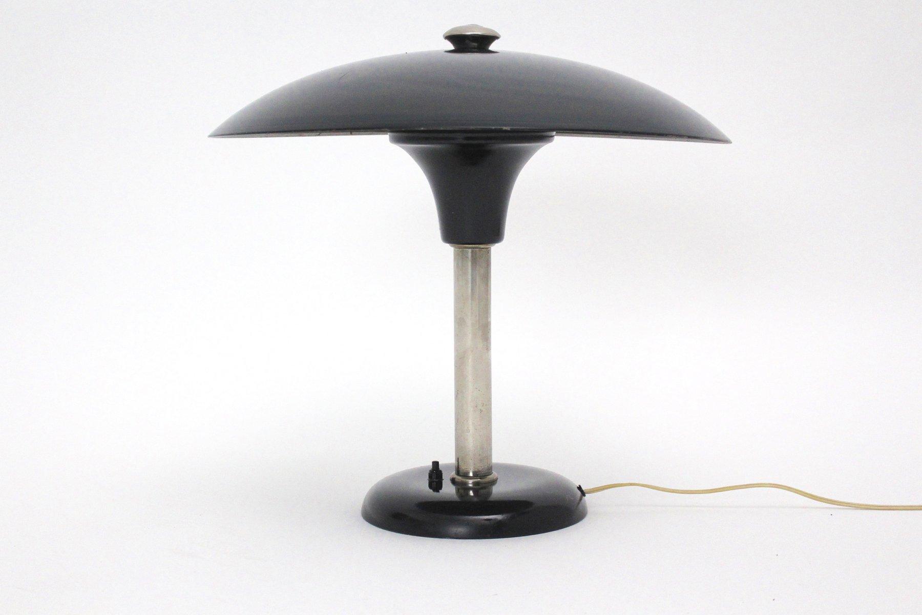 Art Deco Tischlampe von Max Schumacher für Werner Schroeder, 1934
