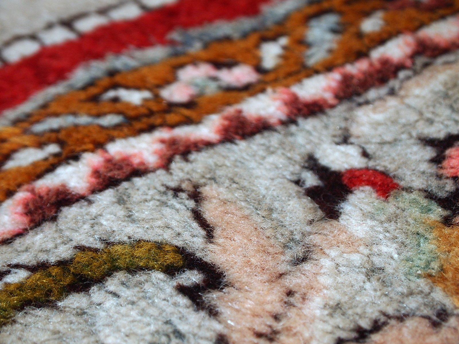 tapis oushak vintage fait main turquie 1940s en vente sur pamono. Black Bedroom Furniture Sets. Home Design Ideas