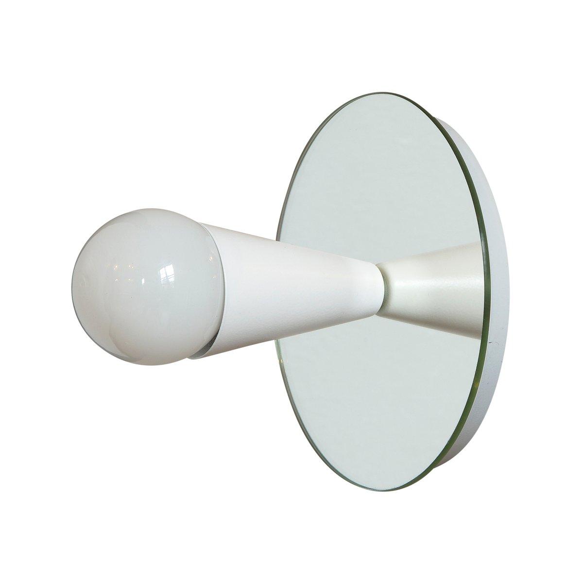 Weiße Echo 1 Wandlampe von Shaun Kasperbauer für Souda