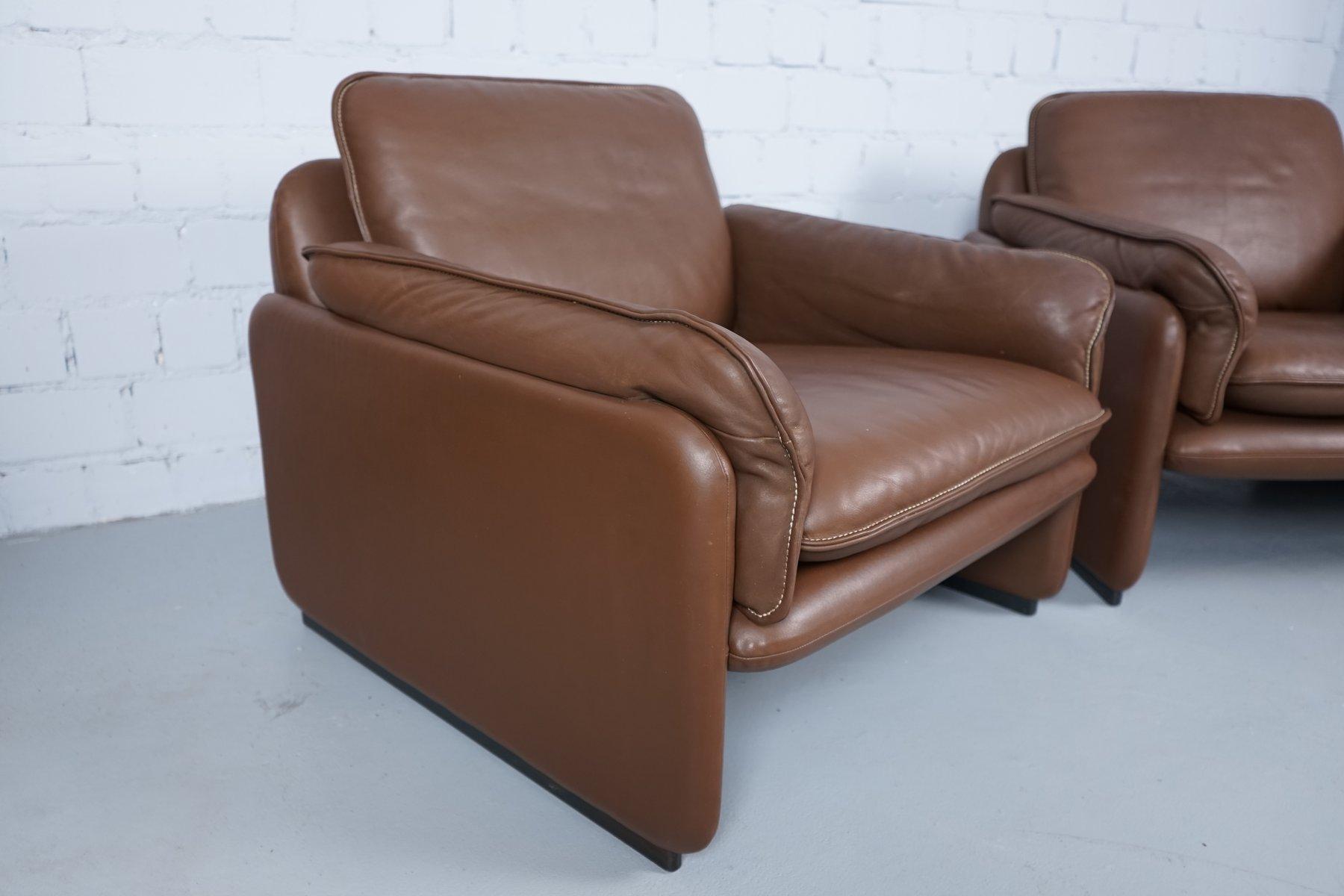 modell ds61 2 sitzer sofa sessel von de sede 1960er 3er set bei pamono kaufen. Black Bedroom Furniture Sets. Home Design Ideas
