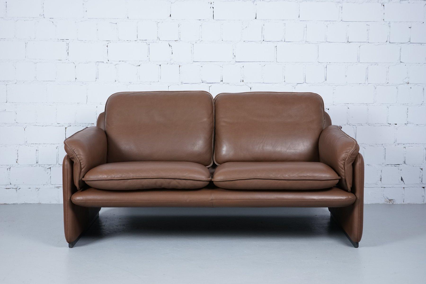 Modell DS61 2-Sitzer Sofa & Sessel von de Sede, 1960er, 3er Set
