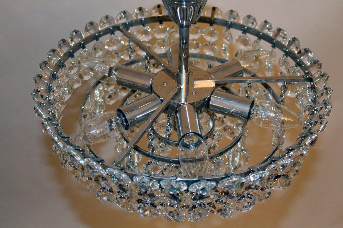 Kronleuchter Klein Quartz ~ Vintage kristallglas kronleuchter von bakalowits söhne er