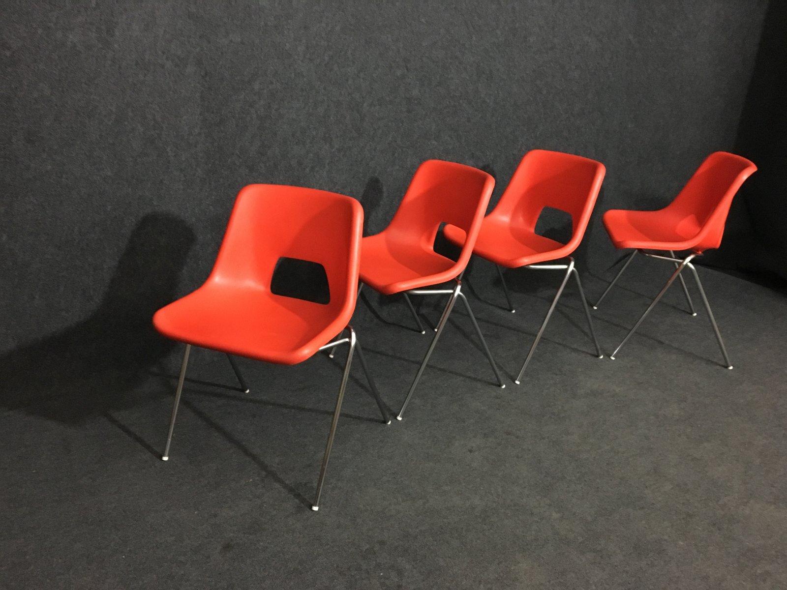 st hle von n gammelgaard f r ikea 1980er 4er set bei. Black Bedroom Furniture Sets. Home Design Ideas