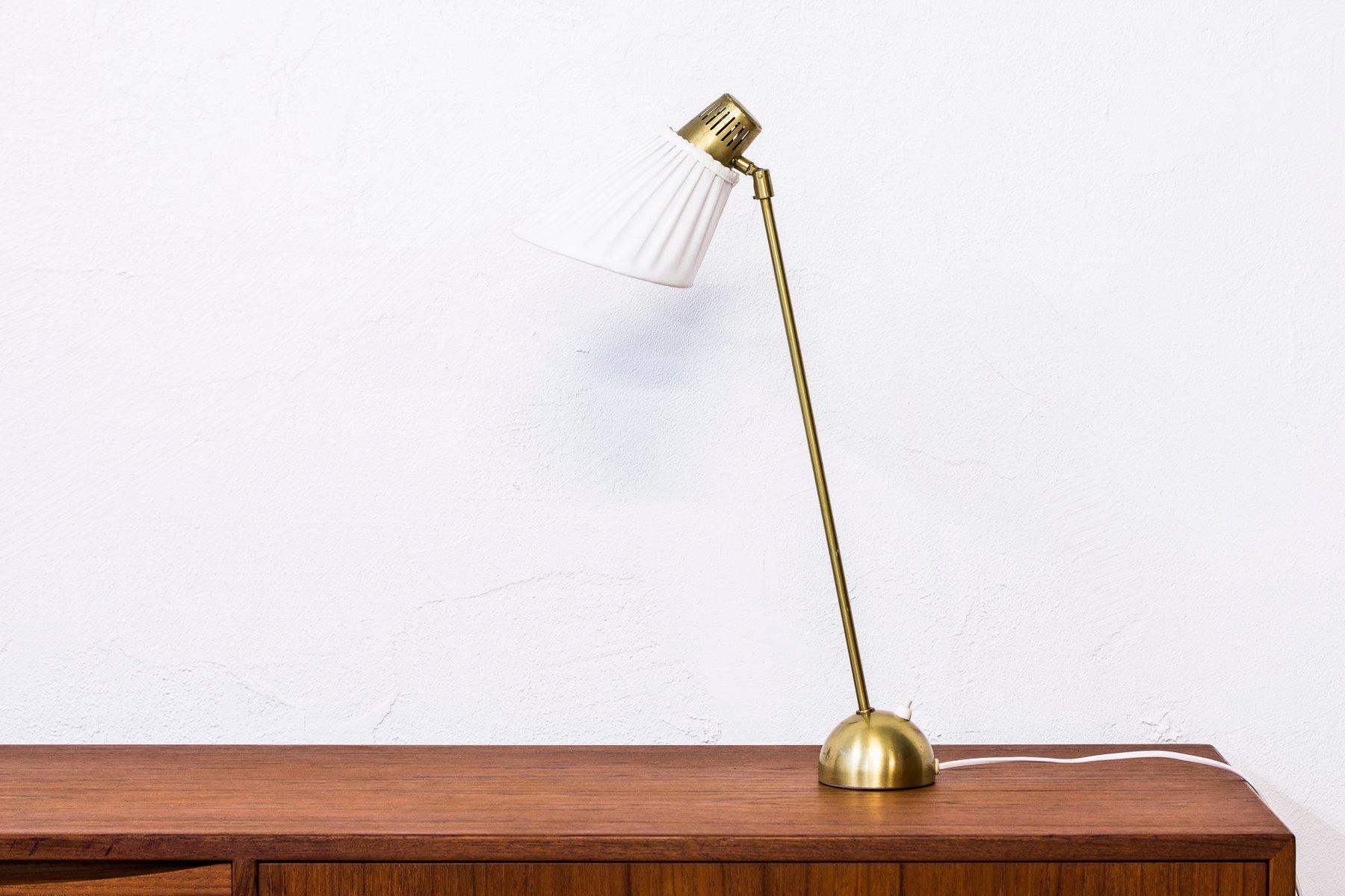 Tischlampe von Hans Bergström für Ateljé Lyktan, 1950er