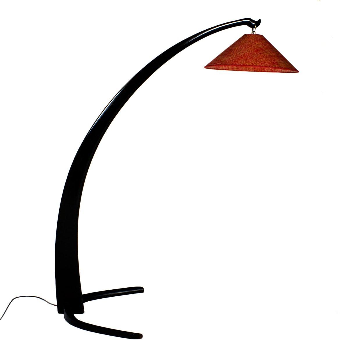 Italienische Mid-Century Bogenlampe, 1950er