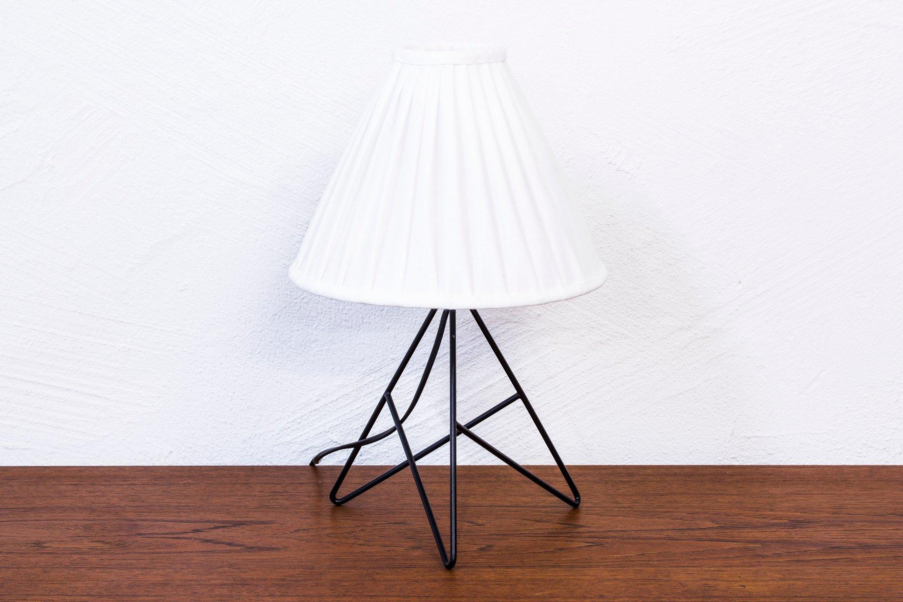 Schwedische Tischlampe von Nils Strinning für String, 1950er