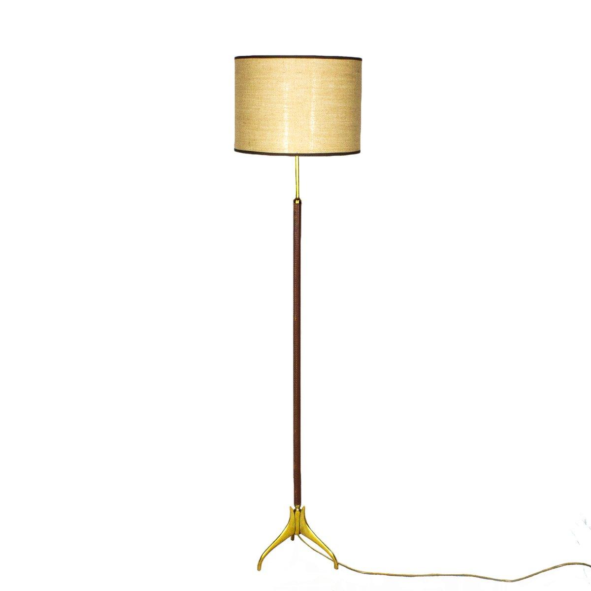 Spanische Mid-Century Dreibein Lampe, 1950er