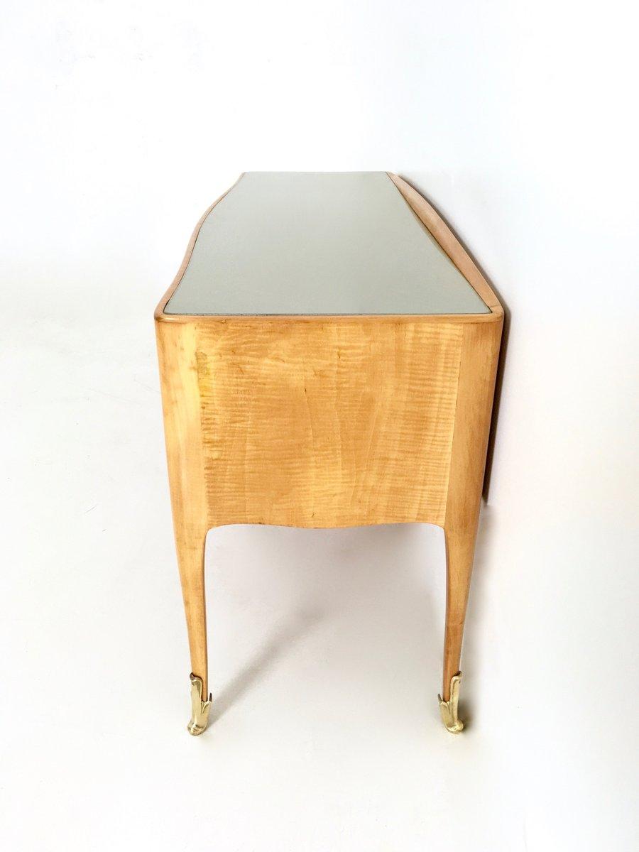 kleine ahorn kommode f r kinder 1950er bei pamono kaufen. Black Bedroom Furniture Sets. Home Design Ideas
