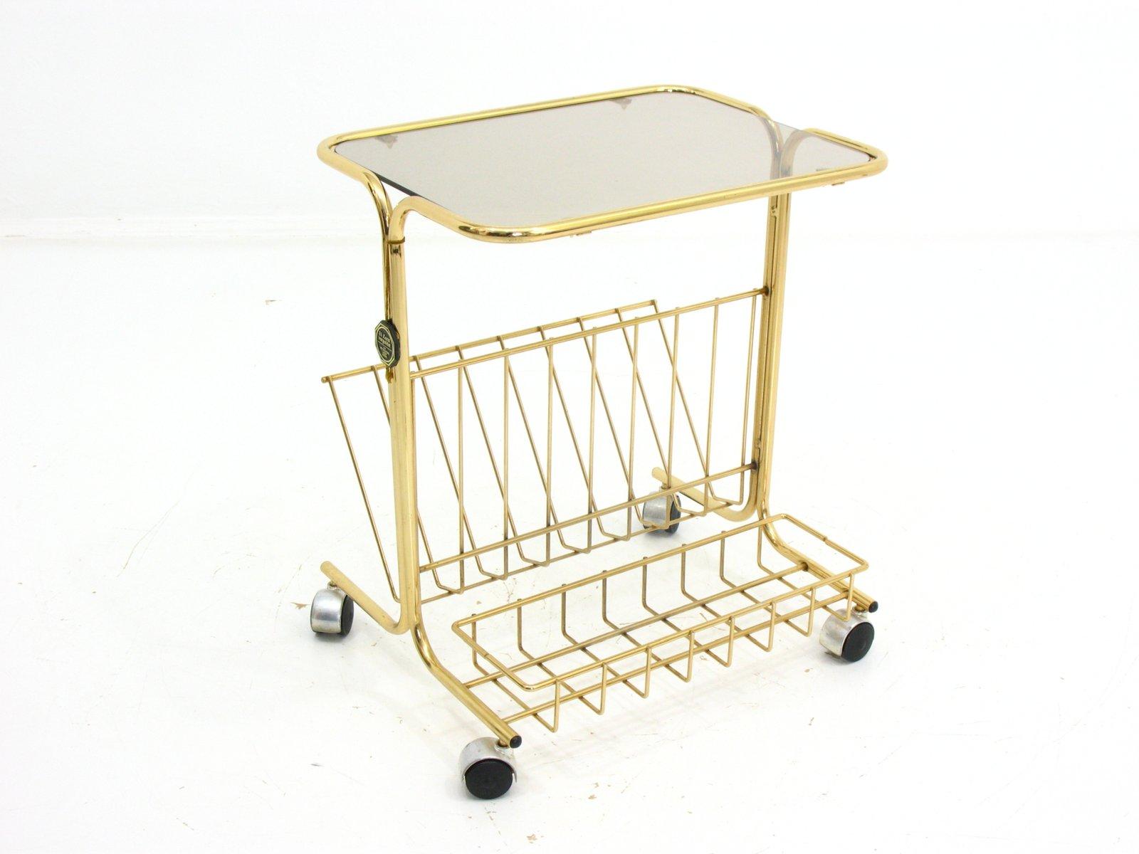 mid century 24 karat gold beistelltisch mit. Black Bedroom Furniture Sets. Home Design Ideas