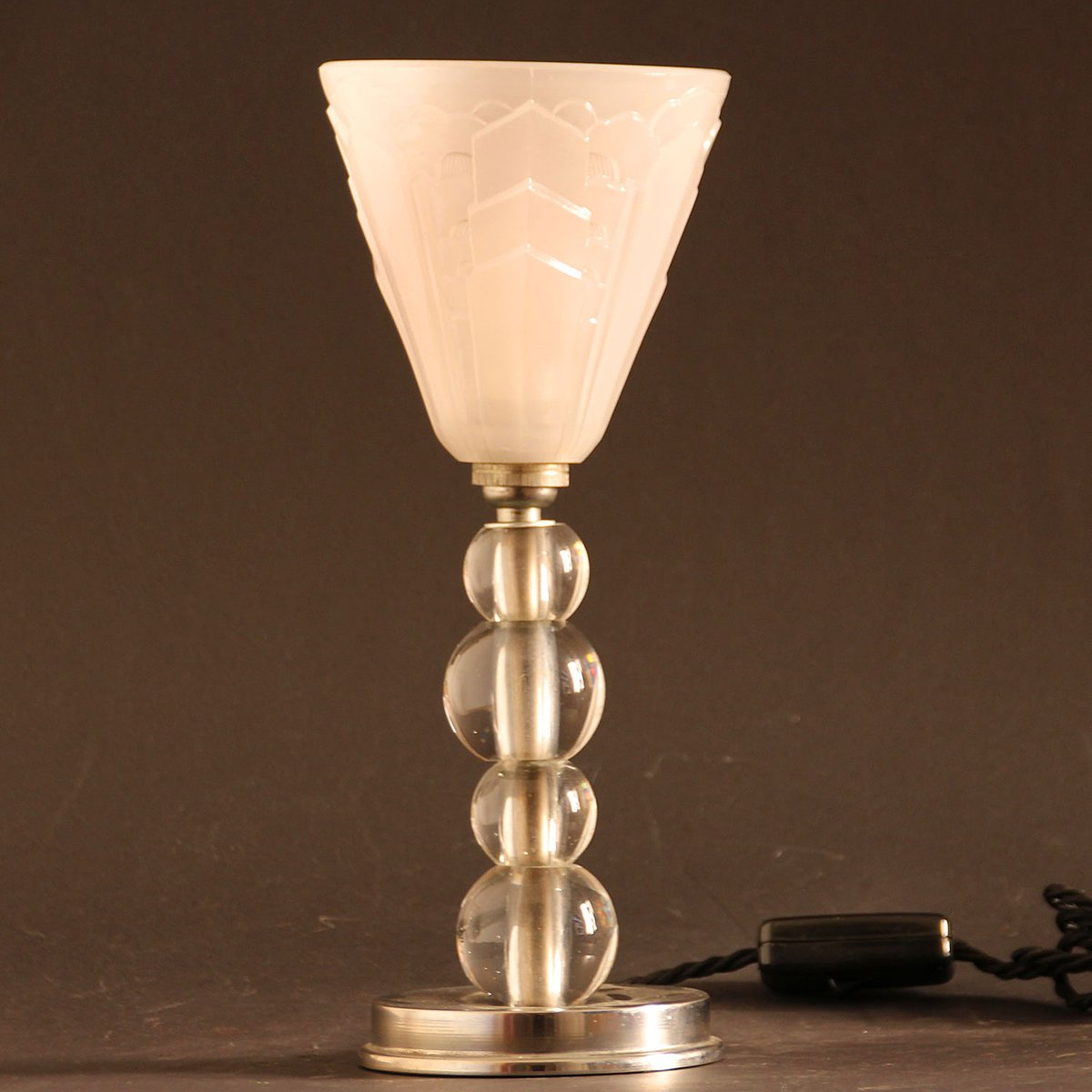 vintage french art deco table lamp 1930s for sale at pamono
