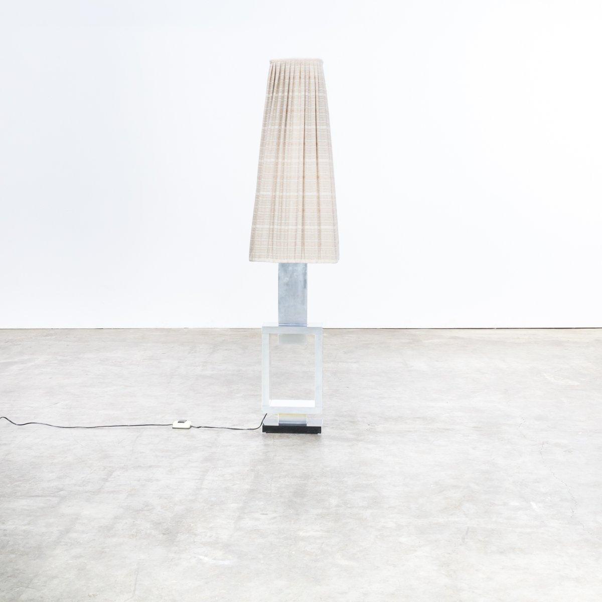 Kunst Stehlampe aus Alumiunium, 1980er