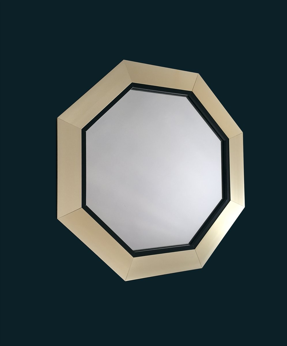 miroir octogonal 1970s en vente sur pamono