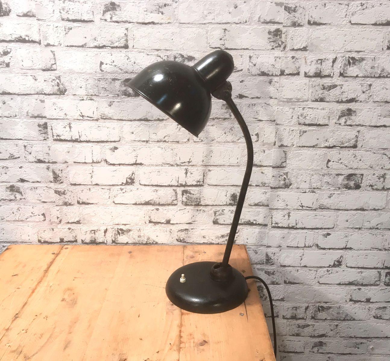 Vintage Tischlampe von Christian Dell für Kaiser Idell
