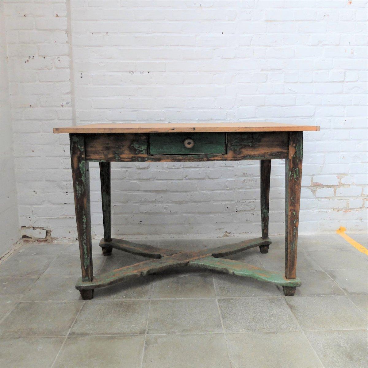 Vintage Holz Farmhaus Tisch
