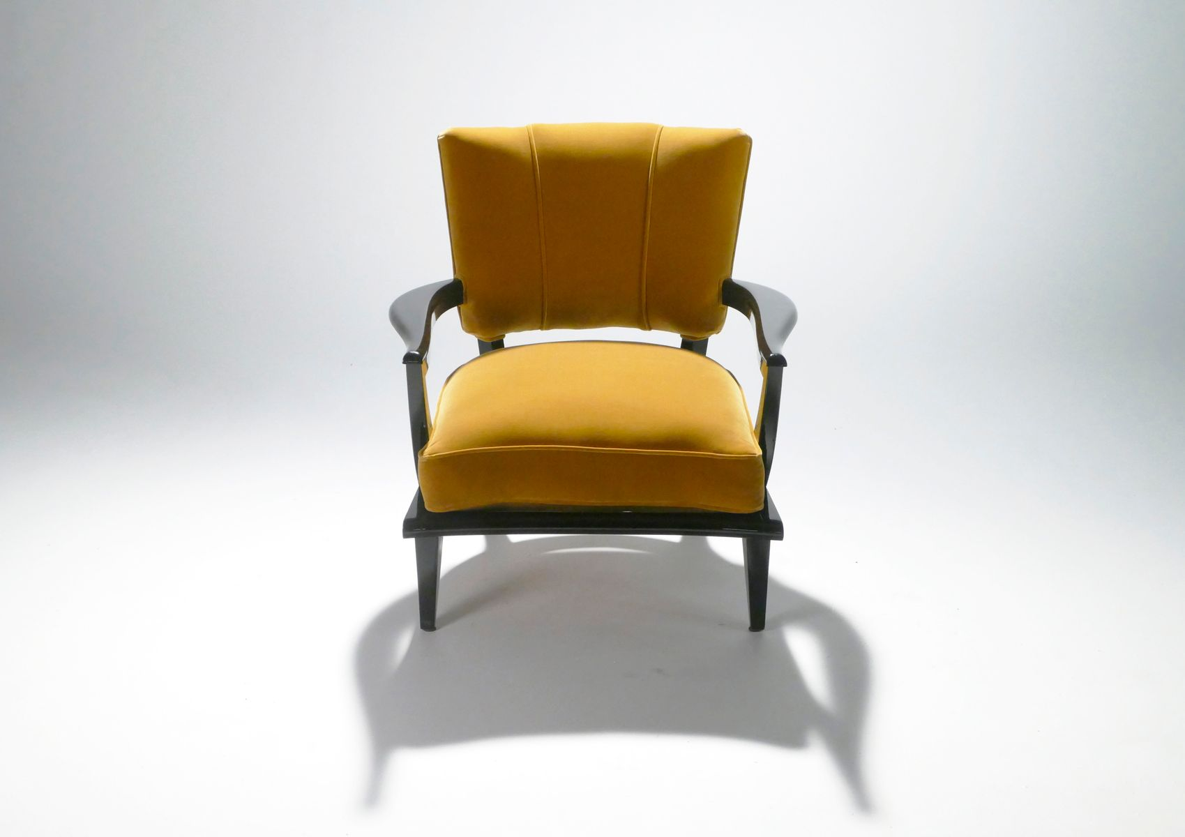 Sessel von Etienne-Henri Martin für Steiner, 1950er, 2er Set