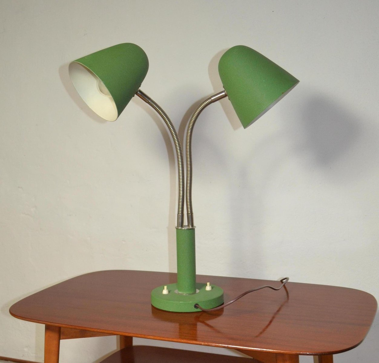 Vintage 2 arm adjustable table lamp for sale at pamono vintage 2 arm adjustable table lamp aloadofball Images