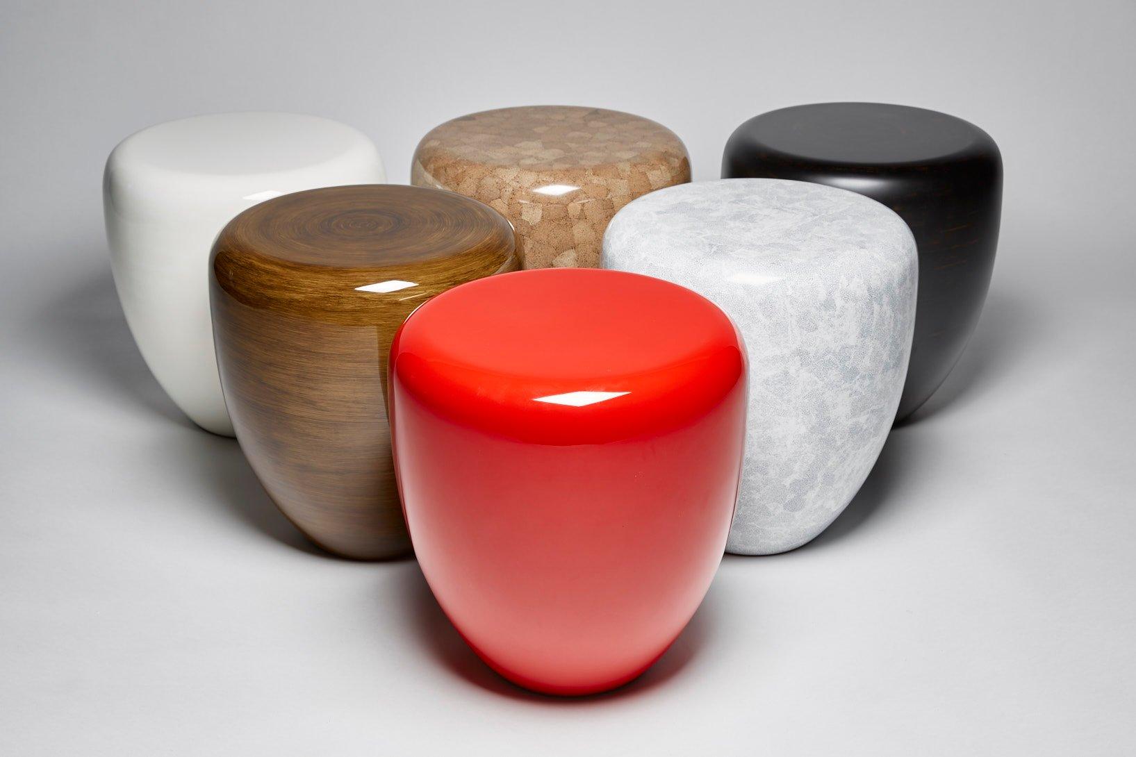 table d 39 appoint ou tabouret dot en rouge iconique par reda amalou en vente sur pamono. Black Bedroom Furniture Sets. Home Design Ideas