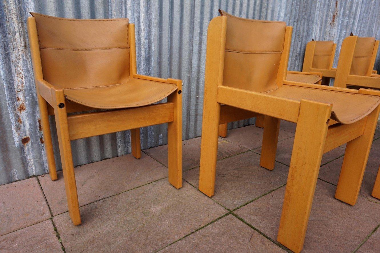 set de salle manger ibisco avec 6 chaises et table rallonge 1970s en vente sur pamono. Black Bedroom Furniture Sets. Home Design Ideas