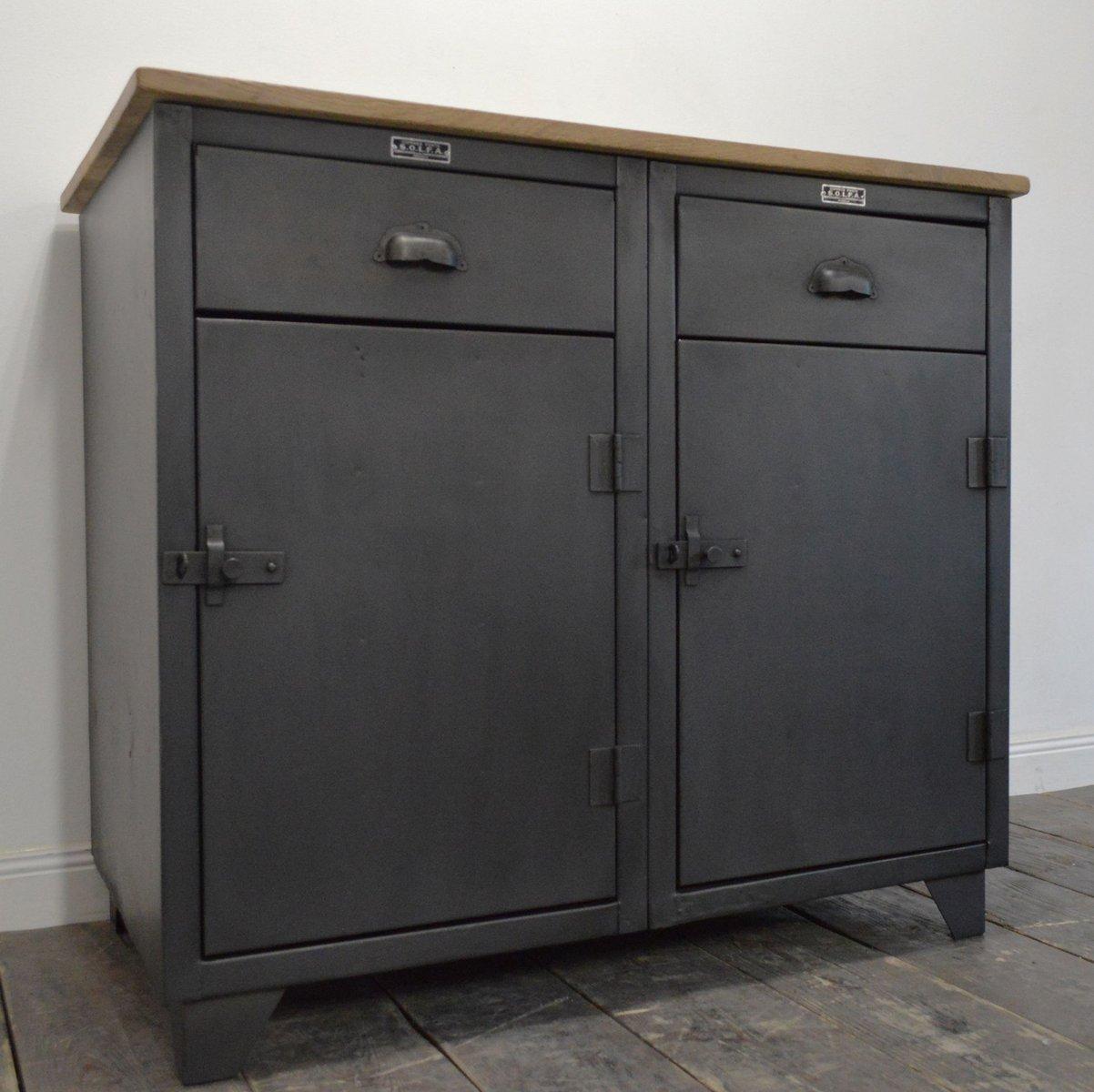 meuble vintage industriel de solfa - Meuble Vintage