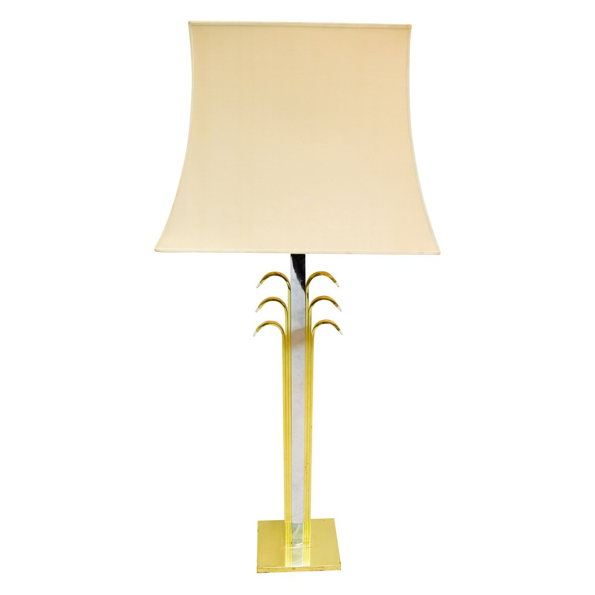 Vintage Palm Tree Table Lamp 1970s For Sale At Pamono