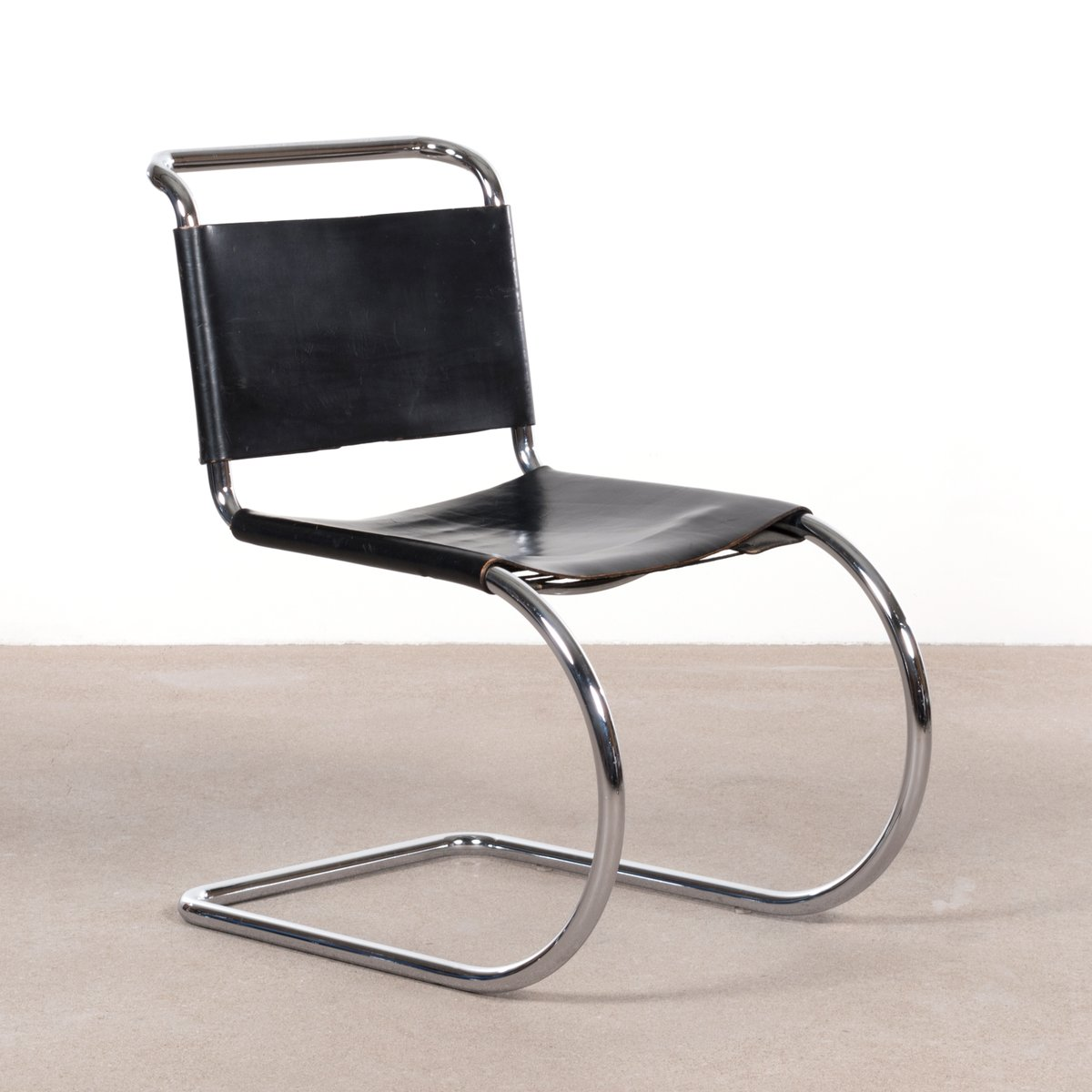Vintage Dining Chairs By Ludwig Mies Van Der Rohe For