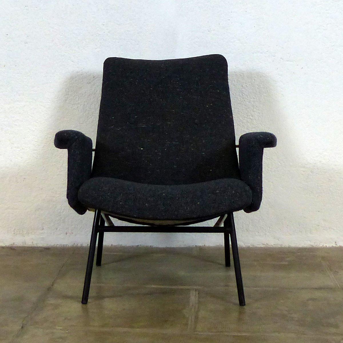 Französischer Mid-Century SK660 Sessel aus Skai von Pierre Guariche fü...
