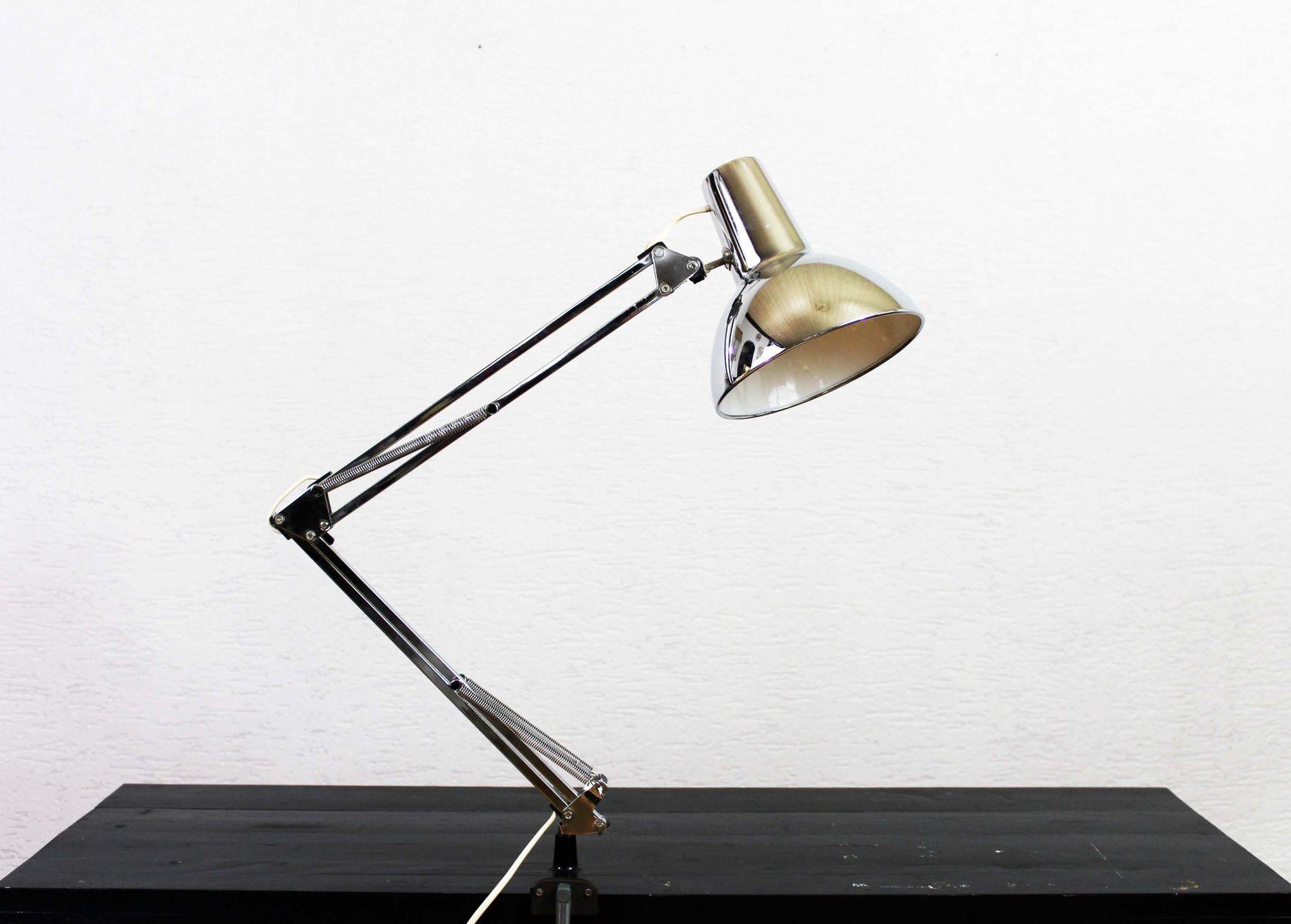 Verstellbare Vintage Schreibtischlampe