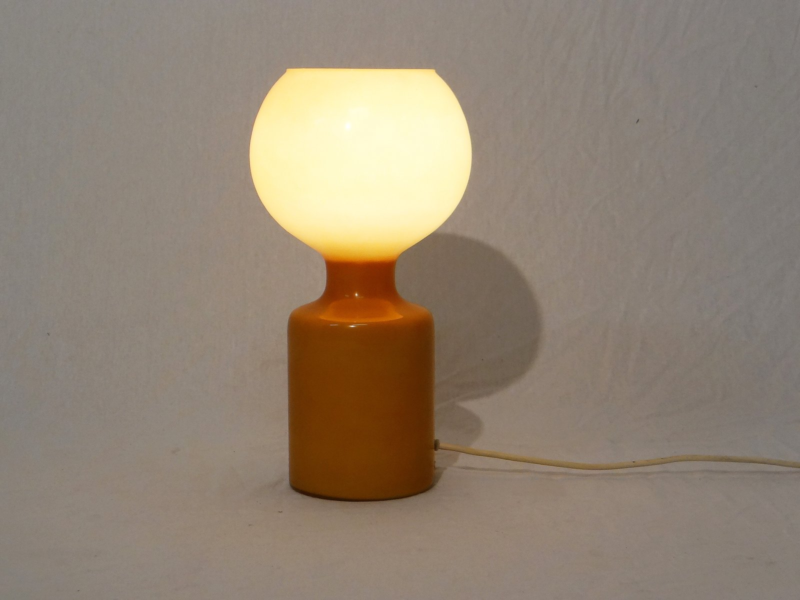 vintage orangefarbene murano lampe bei pamono kaufen. Black Bedroom Furniture Sets. Home Design Ideas