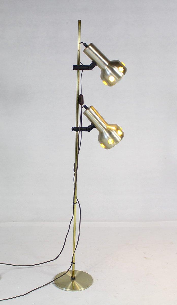 Skandinavische Stehlampe, 1970er