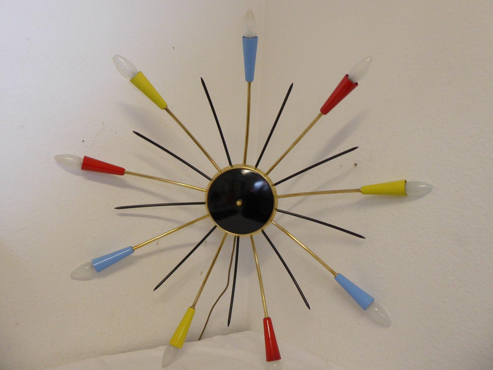 Mid-Century Sputnik Wandlampe, 1950er