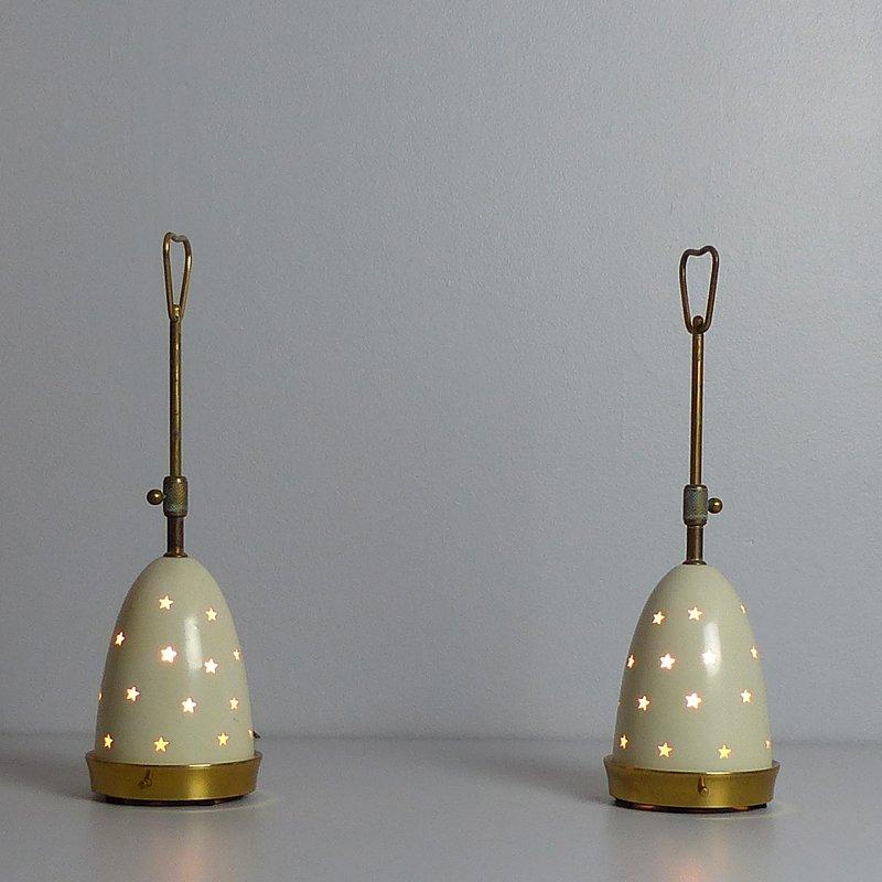 Italienische lampen von poliarte 1970er 2er set 8 for Italienische leuchten