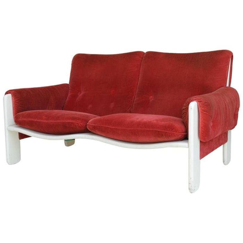 Vintage Sporting Sofa by Ammanati and Vitelli for Rossi di Albizzate ...