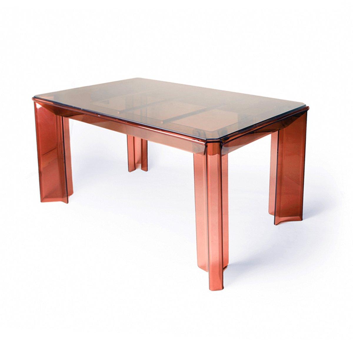 Tavolo da pranzo vintage in perspex con sedie in vendita for Sedie da pranzo economiche