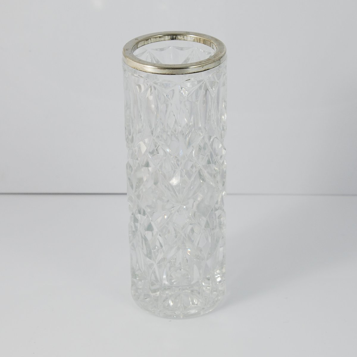 antike englische glas vase von king sons chester bei pamono kaufen. Black Bedroom Furniture Sets. Home Design Ideas
