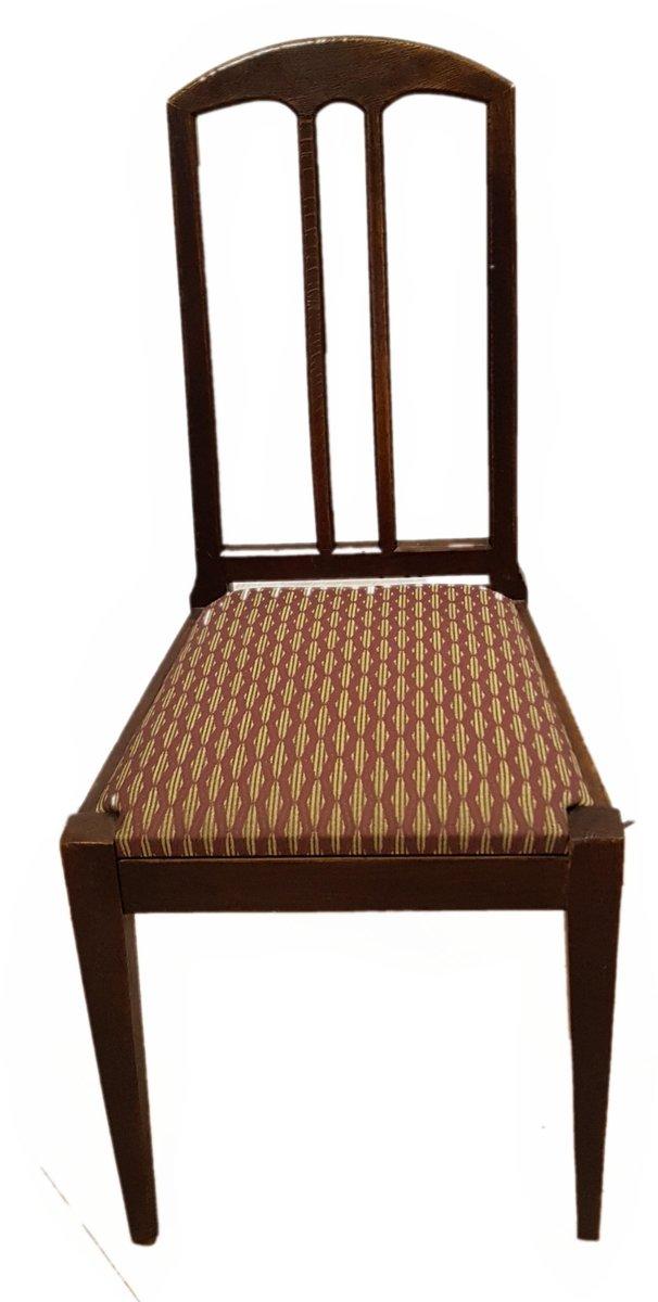 antike eichenholz st hle von bruno paul f r m nchner werkst tten 4er set bei pamono kaufen. Black Bedroom Furniture Sets. Home Design Ideas