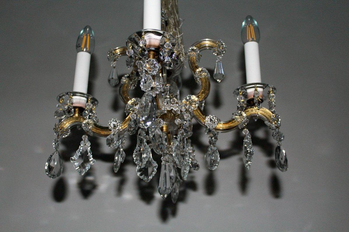 Kronleuchter Klein Vintage ~ Vintage maria theresia kristall kronleuchter von lobmeyr bei