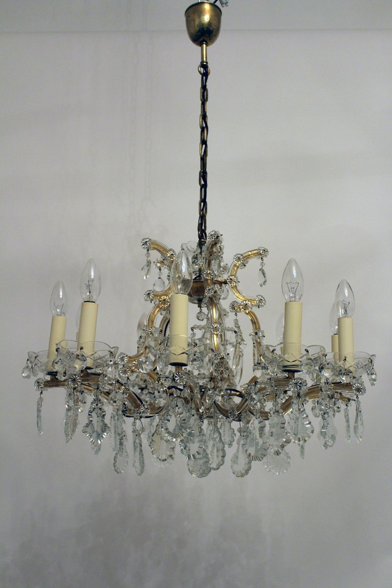 Vintage 12 light maria theresa style crystal chandelier from lobmeyr vintage 12 light maria theresa style crystal chandelier from lobmeyr aloadofball Image collections