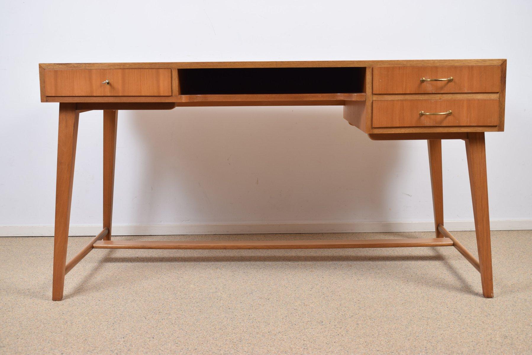 Modell 468 Schreibtisch Von Georg Satink Für WK Möbel, 1950er