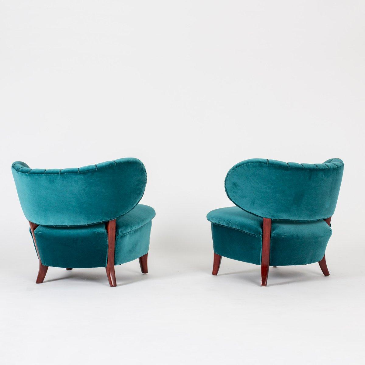 sessel von otto schulz f r boet 1940er 2er set bei pamono kaufen. Black Bedroom Furniture Sets. Home Design Ideas