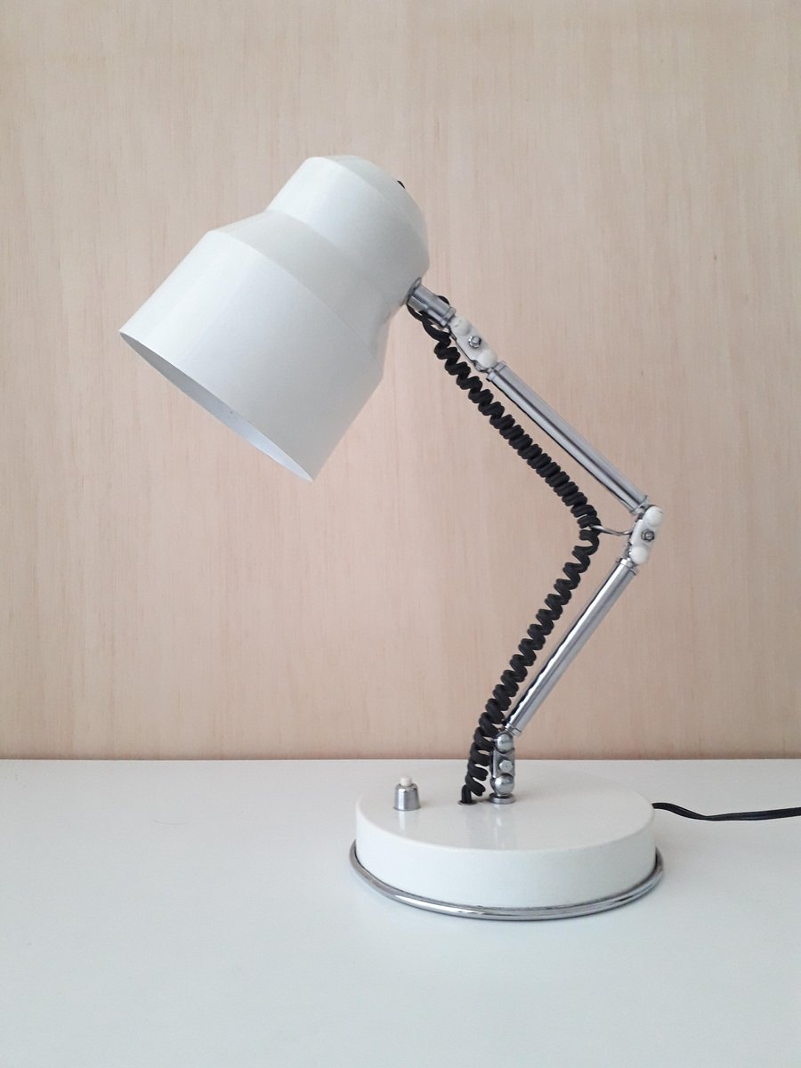 Vintage Schreibtischlampe mit Gelenk von MB Barcelona, 1970er