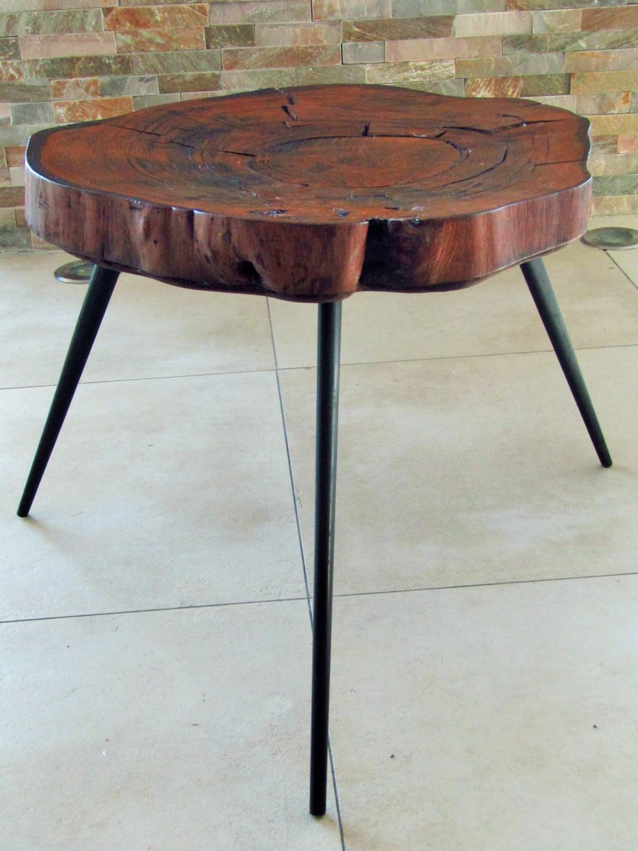 Tree Trunk Coffee Table 1950s For Sale At Pamono