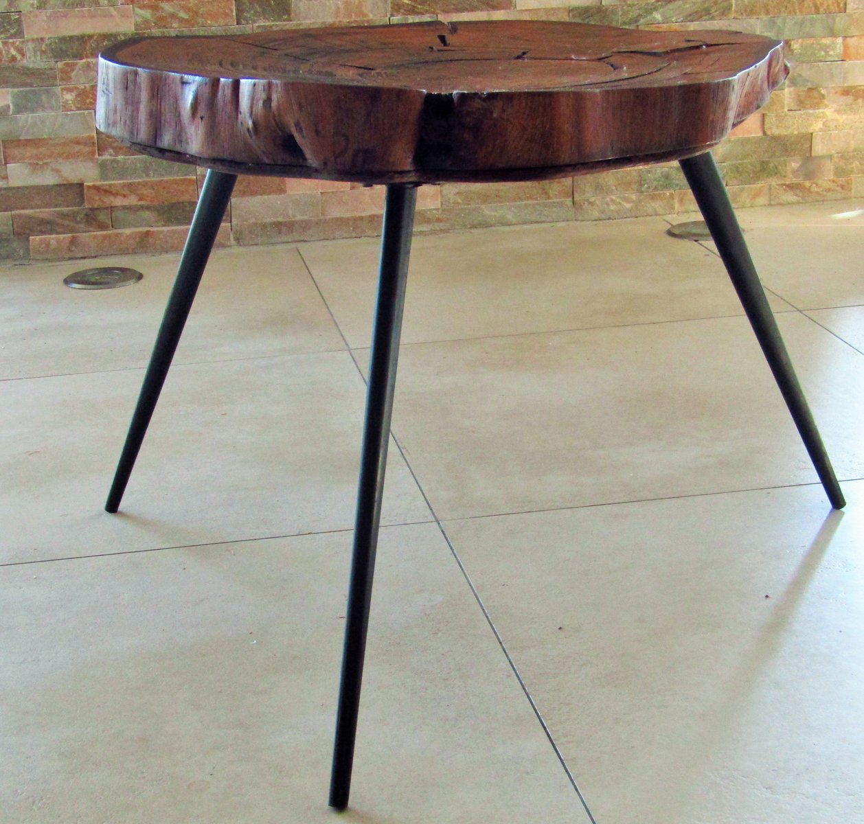 Tree Coffee Table Dk3: Tree Trunk Coffee Table, 1950s For Sale At Pamono