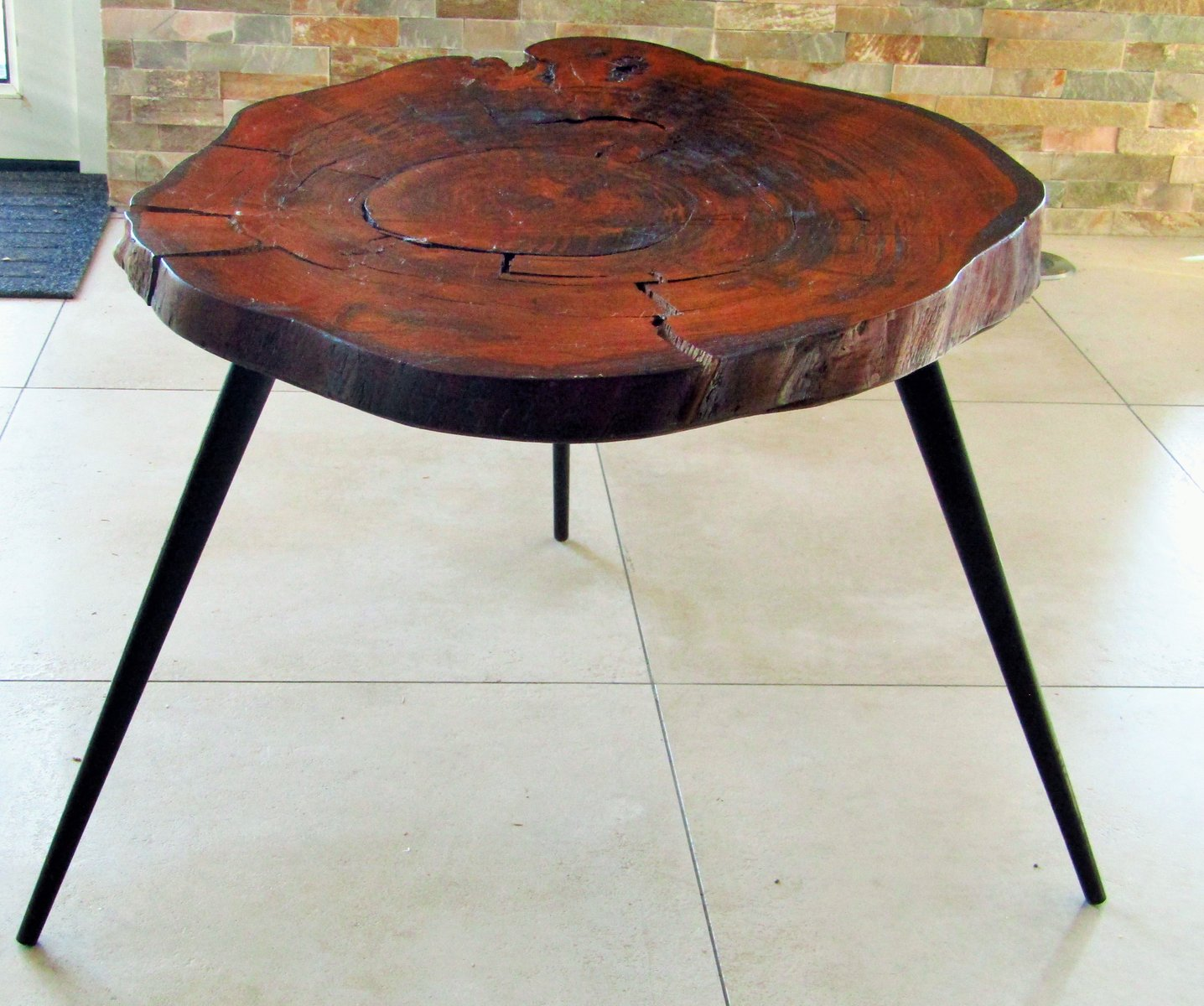 Coffee Table 1950s: Tree Trunk Coffee Table, 1950s For Sale At Pamono
