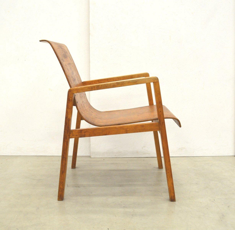 Chaise 403 En Bouleau Par Alvar Aalto Pour Huonekalu Ja Rakennustyte 1930s