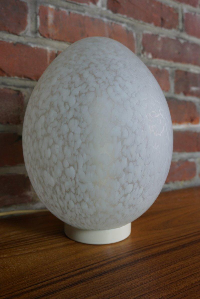 Eiförmige Lampe von Ben Swildens, 1970er