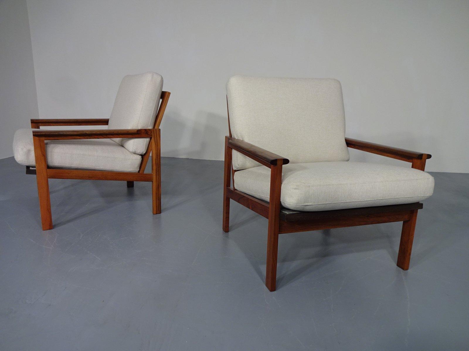 Vintage Palisander Capella Stühle von Illum Wikkelsø und Niels Eilerse...